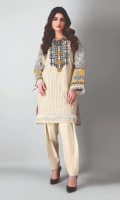 Unstitched Embroidered 2 Piece