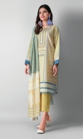 Shirt Length: 3 meters Dupatta Length: 2.5 meters Bottom Length: 2.5 meters