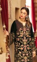 2.5-meter Velvet Embroidered Shirt 2.5-meter Jamawar Trousers