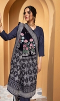 2.5 meter Embroidered Shawl