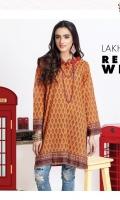 Lawn Digital printed straight kurta embellished with tassals.