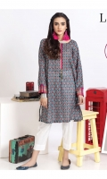 Lawn Digital printed straight kurta , embellished with intricate hand made tassals.