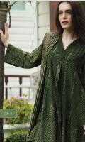 Printed Pashmina Unstitched 3 Piece Suit