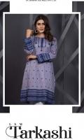 Straight embroidered kurta Boat neck Straight sleeves