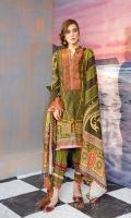 3pc digital printed viscose suit