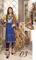 Embroidered Digital  Silk Viscose Printed Crinkle Dupatta Plain Trouser