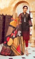 Embroidered Lawn Chikenkari Shirt Lawn Dupata Plain Trouser