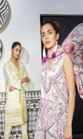 Shirt Front: Dyed Lawn Shirt Back: Digital Printed Lawn Dupatta: Digital Printed Silk Sleeves: Dyed Lawn Trouser: Digital Printed Lawn EMBROIDERY 1. Embroidered Left & Right Panels For Shirt 2.Embroidered Daman For Shirt 3. Embroidered Sleeves 4. Embroidered Patti For Neckline
