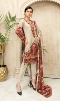 Embroidered Chikankari Linen Linen Shawl Plain Trouser