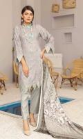 Chikenkari Pashmina Wool Shawl Plain trouser