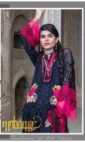 Luxury Embroidered Chiffon Shirt Embroidered Fancy Dupatta Dyed Trouser
