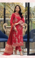 Embroidered Lawn Front Embroidered Lawn Back Plain Lawn Sleeves Embroidered Sleeves Patch Khaddi Net Dupata Embroidered Cambric Lawn Trouser