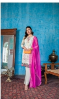 1.75 Mtr Digital Shirt Embroidered Front 2.5 Mtr Chiffon Embroidered Dupatta 2.5 Mtr Trouser