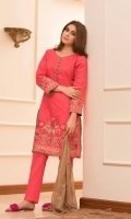 Three Piece Embroidered Lawn Suit
