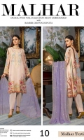 Shirt: - Digital Printed and Heavy Embroidered Swiss Voile Dupatta: - Embroidered Bamber Chiffon Dupatta Trouser: - Dyed