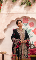 Embroidered Front (Lawn) Embroidered Side Panel (Lawn) Embroidered Side Panel Border (Lawn) Embroidered Front & Back Border (Satin) Embroidered Front Border Patti (Satin) Embroidered Back Patti (Lawn) Embroidered Sleeve (Lawn) Dyed Back Plain (Lawn) Embroidered Dupatta (Chiffon) Trouser (Cotton)