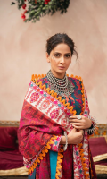 Embroidered Front (Lawn) Embroidered Front Border (Lawn) Embroidered Back (Lawn) Embroidered Sleeve (Lawn) Embroidered Dupatta (Swiss voil) Embroidered Dupatta Pallu (Swiss voil Front, Back & Sleeve Border (Swiss voil ) Trouser (Cotton)