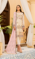 Embroidered Front Chiffon. Embroidered Back Chiffon. Embroidered Sleeves Chiffon. Embroidered Dupatta Chiffon Contrast. Embroidered Dupatta Border. Embroidered Front + Back + Sleeves Border. Embroidered Front Border 2. Embroidered Trouser Border. Trouser