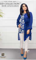 Silk Ready To Wear Shirt Embroidered Front  Full Sleeves Plain Back