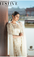 Lawn Ready To Wear 2 Piece Suit Boat Neckline Embroidered Front  Printed 3/4 Sleeves Printed Back  Embroidered Chiffon Dupatta