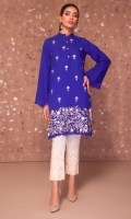 AN EMBROIDERED SHIRT WITH BEAUTIFUL DAMAN BORDER