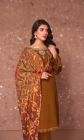 EMBROIDED NECK 1 PIECE EMBROIDED SLEEVE MOTIF 2 PIECES FRONT, BACK & SLEEVE 3.25 MTR