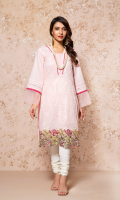 EMBROIDERED LAWN FRONT 1 PIECE EMBROIDERED DAMAN BORDER 1 PIECE PLAIN BACK & SLEEVES 2.0 METERS