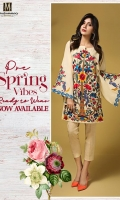 1 piece Cambric Ready To Wear Shirt Boat Neckline Embroidered Front Embroidered Full Sleeves Plain Full back