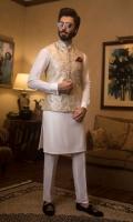 Waistcoat with Kurta Pajama, Pocket Square