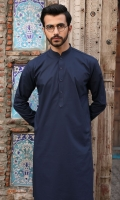 100% Cotton blue shalwar kameez.