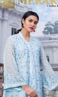 Unstitched Embroidered Shirt