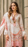 Shirt 3 Mtr Emb Dupatta Net 2.5 Mtr Emb Trouser Dyed 2.5 Mtr Trouser Lace 1.25 Mtr Neck Line 45 Inch Front Lace 60 Inch