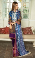Embroidered Printed Lawn Shirt Printed Chikankari Lawn Dupatta Dyed Trouser