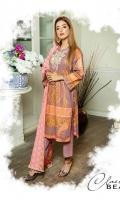 Embroidered Printed Lawn Shirt Printed Chikankari Lawn Dupatta Dyed Trouser