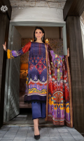 SHIRT FRONT | LUXURY DIGITAL HEAVY EMBROIDERED LAWN FRONT SHIRT BACK    | LUXURY DIGITAL PRINTED  LAWN BACK SLEEVES           | LUXURY DIGITAL PRINTED LAWN SLEEVES   DUPATTA         |LUXURY LAWN NENO GOLD WORK DUPATTA TROUSER         |CAMBRIC COTTON TROUSER