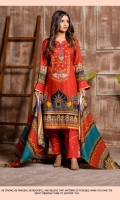 Printed and Embroidered Cambric Shirt Printed Lawn Dupatta Embroidered Trouser