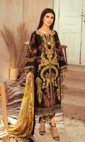 EMBROIDERED LAWN FRONT BACK AND SLEEEVE EMBRIODERED FRONT BACK DAMAN PATCH DIGITAL PRINT SILK DUPATTA COTTON TROUSER