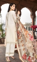 DYED LAWN SEQUINS EMBROIDERED FRONT DYED LAWN EMBROIDERED BACK DYED LAWN SEQUINS EMBROIDERED SLEEVES LAWN EMBROIDERED FRONT BORDER LAWN EMBROIDERED BACK BORDER LAWN EMBROIDERED SEELVES BORDER LAWN EMBROIDERED TROUSER BORDER DIGITAL PRINTED CHIFFON DUPATTA DYED TROUSER