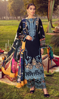 Embroidered Lawn Front 1.20 M Dyed Lawn Back 1.14 M Embroidered Neckline Patch 1 Pc Embroidered Patch For Front Daman 0.94 M Embroidered Lawn Sleeves 0.67 M Digital Printed Sleeves Patch 1.00 M Digital Printed Tissue Silk Dupatta 2.50 M Dyed Cotton Trouser 2.50 M Trouser Embroidered Patch 1.10 M
