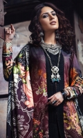 Digital Printed Linen Front 1 M Digital Printed Linen Back 1 M Front Embroidered Patch 3 M Digital Printed Linen Sleeves 0.67 M Digital Printed Linen Dupatta 2.5 M Dyed Linen Trouser 2.5 M