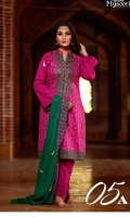 Bareeza Swiss Cotton With Embroidered Chiffon Dupatta