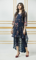 Its on Net Fabric with Thread Embroidery with Designing Net back and Inner