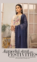 Signature Embroidered Lawn Shirt Crinkle Chiffon Dupatta Dyed Trouser