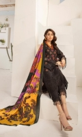 Embroidered Leather Peach Wool Shawl Plain Trouser
