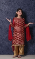 Chiffon Formal 3 Piece Suit for Girls
