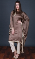 Embroidered Silk Stitched 2 Piece Suit