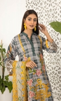 Shirt: Lawn Dupatta: Embroidered Chiffon Trouser: Lawn