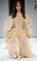 Off shoulder top, dupatta with sheesha tanka. Organza Fabric, Silk bluose.