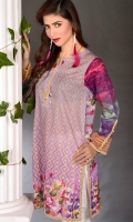 This Purple Mist Kurta From Our English Garden Theme Takes You To Cloud 9. Basic Digital Geometrical Print With Floral Border & The Cloudy Effect On The Sleeves Shows The Diversity Of Patterns & Colors. Beige Geometrical Finishes Break The Flow Of These Vibrant Colors Making It More Interesting To The Eyes.