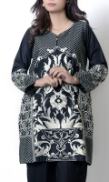 Thread embroidered shirt with embroidered motif on sleeves. stitched in elegent way which adds extra beauty.